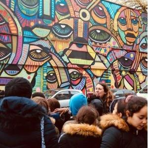 Street art tour in Paris 19