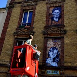 Fenêtre sur rue, street-art à Saint-Denis avec Seth, Di Bona...