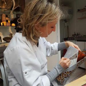 Sylvie Thomas d'Au jardin de Porcelaines