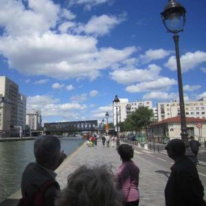 Le canal Saint-Denis, de la Villette à la darse de la Charbonnière