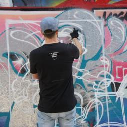 Graffiti à Bercy - FESTIVAL PHENOMEN'ART