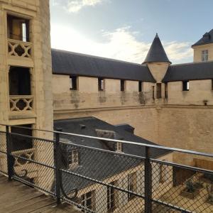 Cours du château de Vincennes ©Widetrip