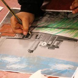 Atelier en famille au musée de Nogent