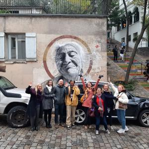 Street Art tour in Paris Montmartre