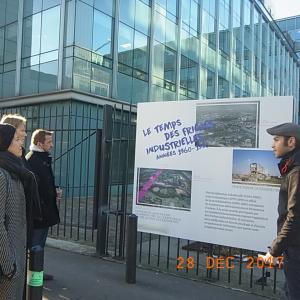 Exposition Le sport en Héritage, reconversion urbaine du quartier du Stade de France