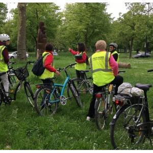 Le bois de Vincennes à bicyclette