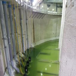 Le bassin de rétention du Rouailler à Livry-Gargan