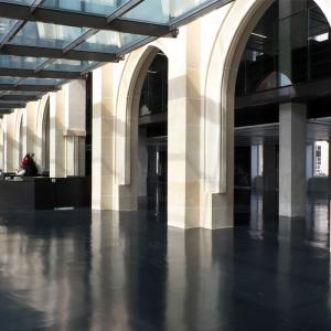 Hall de la médiathèque de l'architecture et du patrimoine