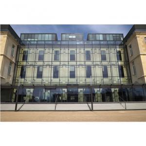 Façade de la médiathèque de l'architecture et du patrimoine