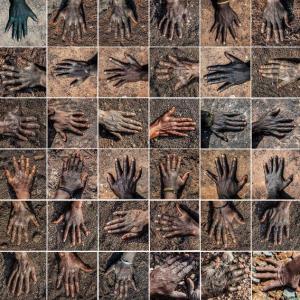 Le Vide, Georges Senga, photographie numérique, 200 x 200 cm, 2019 © Georges Senga