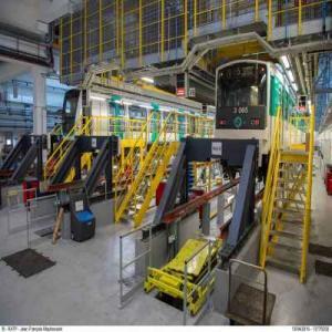 RATP Atelier de maintenance : Ticket gagnant.