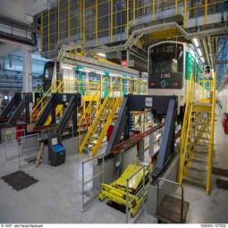 RATP Atelier de maintenance : Ticket gagnant
