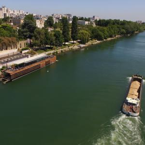 A la découverte des berges du canal Saint-Denis et de la Seine à vélo du Parc de la Villette à Epinay-sur-Seine