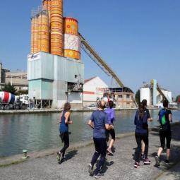 Running Tour à Saint-Denis