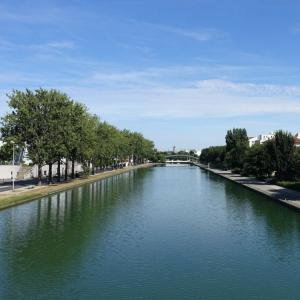 Randonnée le long du canal Saint-Denis