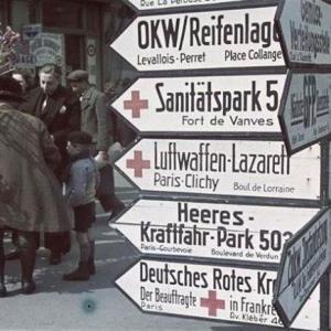 Plongée dans un Paris sous l'Occupation de 1940 à 1944 -  Balade virtuelle