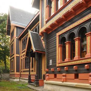 Pavillon de la Suède et de la Norvège, Courbevoie, 1878