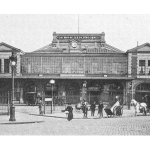 Gare de la Bastille an1900