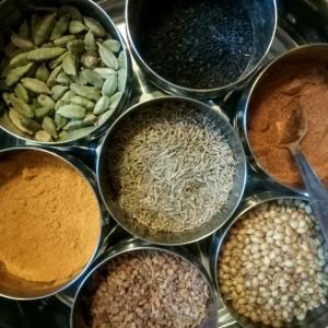 Atelier Cuisines et Epices d'Inde