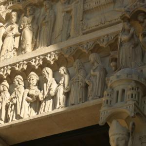 Facade Notre-Dame de Paris