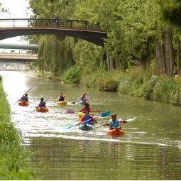 Rando'Kayak sur le canal de l'Ourcq