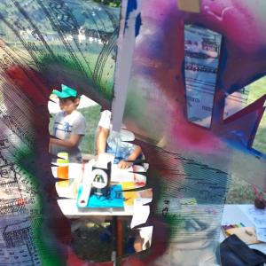 Atelier d'initiation au street-art et live painting