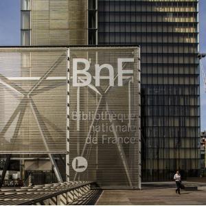 La bibliothèque François Mitterand ©BnF