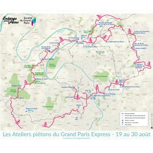 Les ateliers piétons du Grand Paris : De Villepinte à La Courneuve