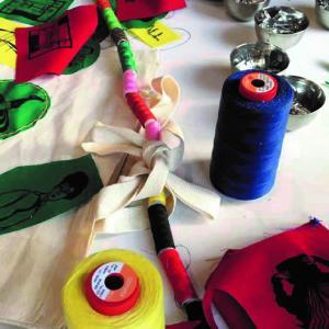 Atelier de couture et de reprisage au Millénaire