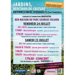 Concert-lecture au parc Georges Valbon : Je rêverais encore longtemps...