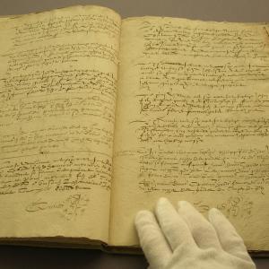Atelier de conservation des archives - Journées du patrimoine