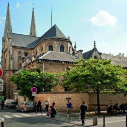 L'architecture de style Éclectique, les églises de Belleville et Ménilmontant