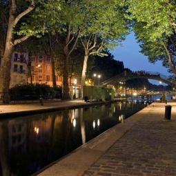 La Guinguette du Canal : Dîner musical sur le canal Saint Martin et la Seine