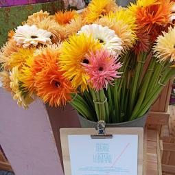 Initiation à l'art floral à Lil'O sur l'Ile-Saint-Denis