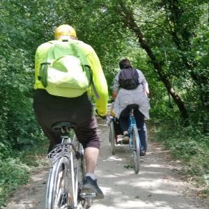 Tégéval balade à vélo accessible