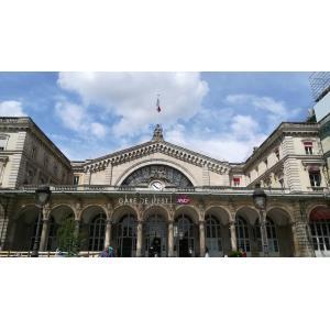 La Gare de l'Est et son quartier