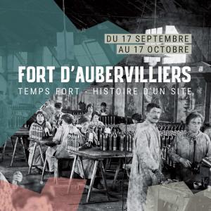 Exposition Temps forts au Fort d'Aubervilliers - Journées du patrimoine