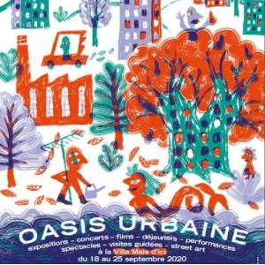 Affiche Oasis Urbaine