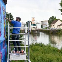 Le canal Saint-Denis, l'axe du Grand Paris