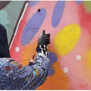 Découverte de fresques à vélo sur l'Ile-Saint-Denis + initiation de peinture murale