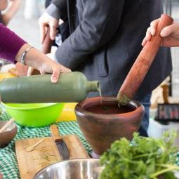Balade botanique et atelier cuisine zéro déchet au Parc de la Bergère - Altrimenti