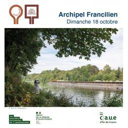 La Seine à Nanterre, le fleuve entre industrie et paysage - Archipel francilien