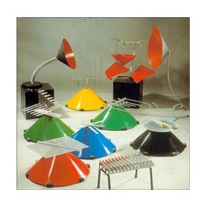 Pochettes de disques et Structures Sonores Baschet avec Formula Bula