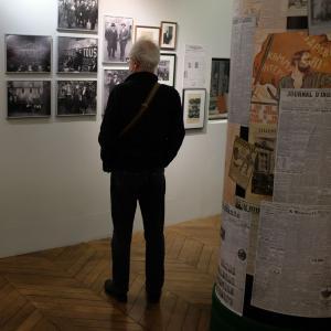10 ans d'histoire de la gauche francaise, exposition au Musée d'histoire vivante