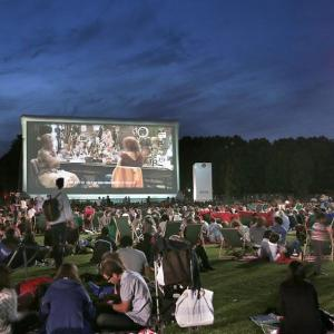 Galactic cruise and outdoor screening