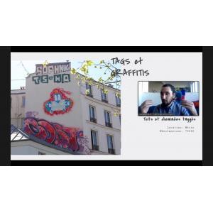 Visite virtuelle graffiti à Belleville-Ménilmontant