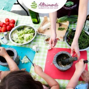 Atelier cuisine anti-gaspi pour l'apéro - Pesto de fanes et croquettes de brocolis avec Altrimenti - Virtuel