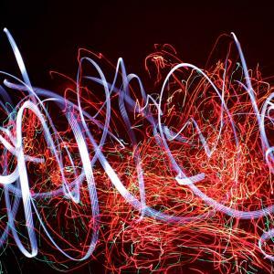 Light Painting à l'Exploradôme - FESTIVAL PHENOMEN'ART