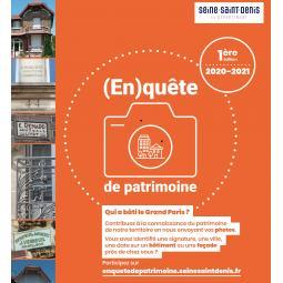 (En)quête de patrimoine : Voyage spinassien dans le quartier du Cygne d'Enghien - Conférence virtuelle