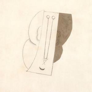 Pablo Picasso, Tête, 1913 ©Gassul Fotografia S.L. ©Succession Picasso 2020